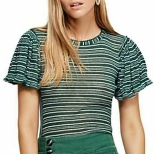 Free People Take One For The Team Tee Size Sm NEW